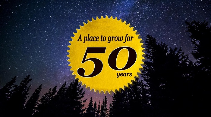 A place to grow for 50 years