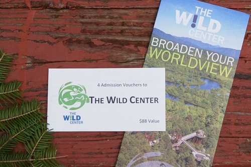 Wild Center gift certificates RS